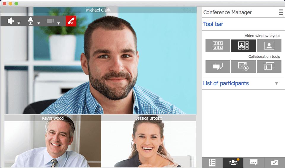 Hochwertige Videokonferenzen